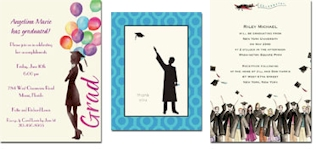 Graduation Invitations and Thank You Notes by Bonnie Marcus