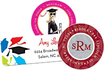 Graduation Labels and Stickers