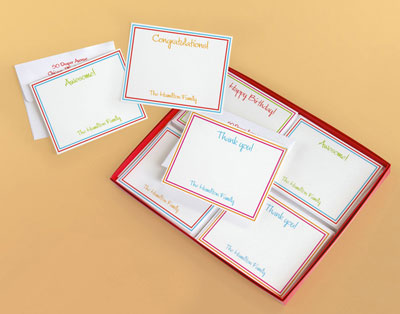 Great Gifts by Chatsworth - Contemporary Note Card Set (GP176)