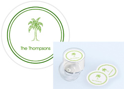 Great Gifts by Chatsworth - Palm Tree Palm Beach Coasters