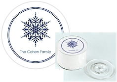 Great Gifts by Chatsworth - Single Snowflake Coaster