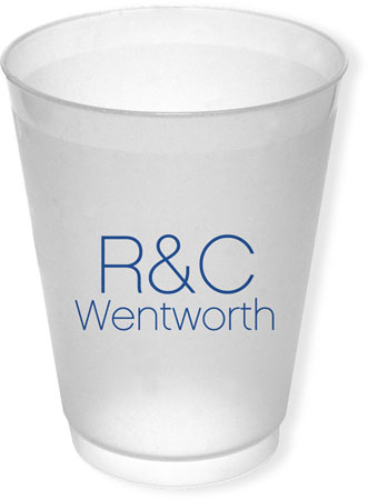 Great Gifts by Chatsworth - Reusable Flexible Cups (Text Only)