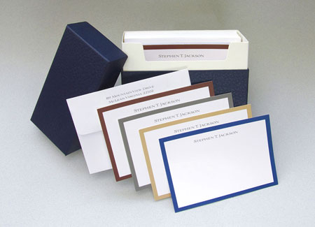 Great Gifts by Chatsworth - Stationery Set (Gentleman Borders)