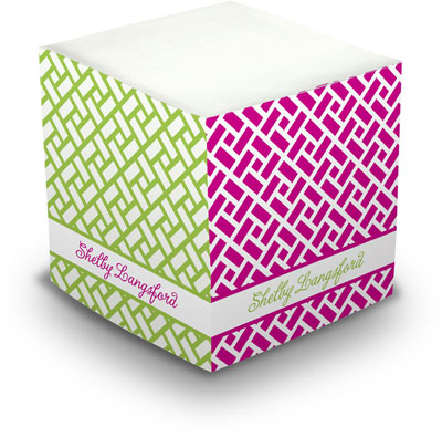 Great Gifts by Chatsworth - Decorative Memo Cubes/Sticky Notes (Chippendale)