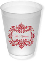 Great Gifts by Chatsworth - Reusable Flexible Cups (Damask)