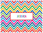 Great Gifts by Chatsworth - Folded Notes (Bright Chevron)