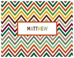 Great Gifts by Chatsworth - Folded Notes (Rustic Chevron)