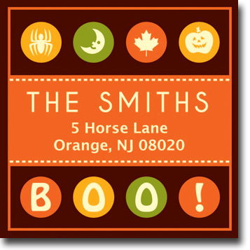 Halloween Address Labels - Halloween2