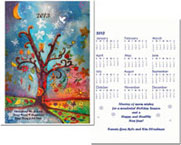 Another Creation by Michele Pulver Holiday Greeting Cards - Colors of the Wind with Calendar
