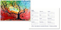 Another Creation by Michele Pulver Holiday Greeting Cards - A Tree For All Seasons with Calendar
