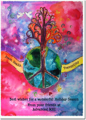 Another Creation by Michele Pulver Holiday Greeting Cards - Seasons of Peace