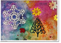 Another Creation by Michele Pulver Holiday Greeting Cards - The Four Seasons