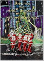 Another Creation by Michele Pulver Holiday Greeting Cards - Dancing Santas