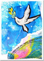 Another Creation by Michele Pulver Holiday Greeting Cards - A Great Peace