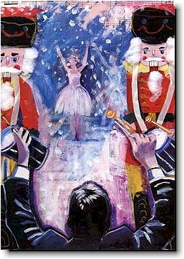 Another Creation by Michele Pulver Holiday Greeting Cards - The Nutcracker