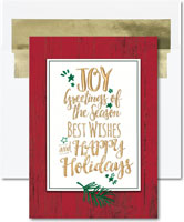 Birchcraft Studios Holiday Greeting Cards - Greetings of Plenty