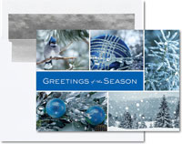 Birchcraft Studios Holiday Greeting Cards - Icy Blue Wonder
