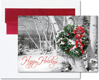 Birchcraft Studios Holiday Greeting Cards - Rustic Cheer