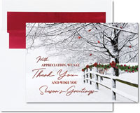 Birchcraft Studios Holiday Greeting Cards - Winter Wishes