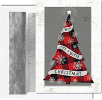 Birchcraft Studios Holiday Greeting Cards - Mad for Plaid