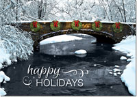 Birchcraft Studios Holiday Greeting Cards - Holiday Thaw