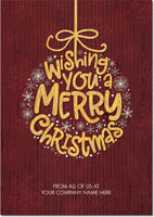 Birchcraft Studios Holiday Greeting Cards - Merry Wish