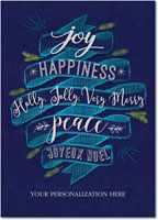 Birchcraft Studios Holiday Greeting Cards - Happiness Abounds