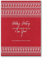 Holiday Greeting Cards by Carlson Craft - Nordic Charm