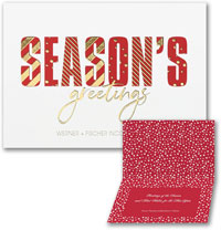 Holiday Greeting Cards by Carlson Craft - Decorative Seasons