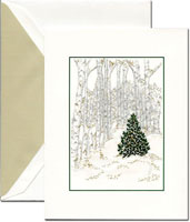 Crane Holiday Greeting Cards - Into The Woods
