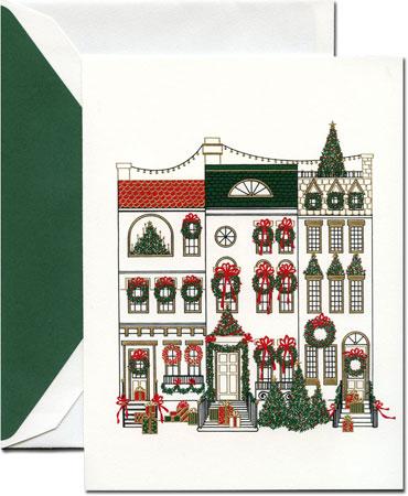Crane holiday greeting cards cheerful brownstones more than paper crane holiday greeting cards cheerful brownstones m4hsunfo