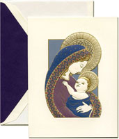 Crane Holiday Greeting Cards - Madonna and Child