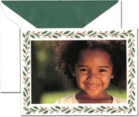 Crane Holiday Digital Photo Cards - Pine And Holly