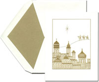 Crane Holiday Greeting Cards - Holy City