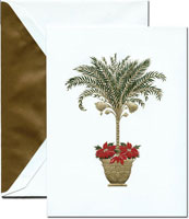 Crane Holiday Greeting Cards - Tropical Holiday
