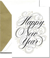 Crane Holiday Greeting Cards - Happy New Year
