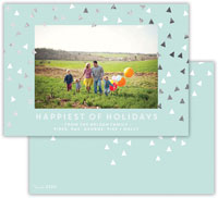 Dabney Lee Digital Holiday Photo Card - Sprinkles Sea with Foil (Flat)