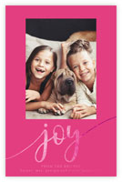 Dabney Lee Holiday Photo Mount Cards - Oh Joy with Foil