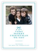 Letterpress Holiday Photo Mount Cards by Dabney Lee (A Very Merry Christmas)