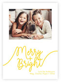 Letterpress Holiday Photo Mount Cards by Dabney Lee (Whimiscal Merry)