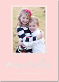 Dabney Lee Holiday Photo Mount Cards - Warm Wishes Foil