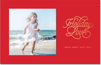 Dabney Lee Holiday Photo Mount Cards - Holiday Love Foil