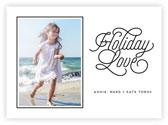 Letterpress Holiday Photo Mount Cards by Dabney Lee (Holiday Love)
