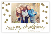Letterpress Holiday Photo Mount Cards by Dabney Lee (Holepunch Christmas)
