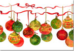 Good Cause Greetings - Holiday Baubles