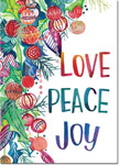 Good Cause Greetings - Love Peace Joy