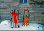 Good Cause Greetings - Vintage Sleds