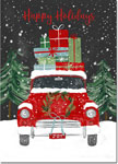 Good Cause Greetings - Christmas Car