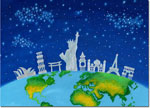 Holiday Greeting Cards by Good Cause Greetings - We Are One World