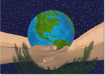 Holiday Greeting Cards by Good Cause Greetings - Earth Care